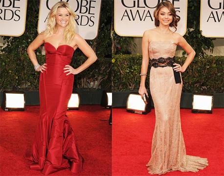 Best Dressed Women GG 2012 2